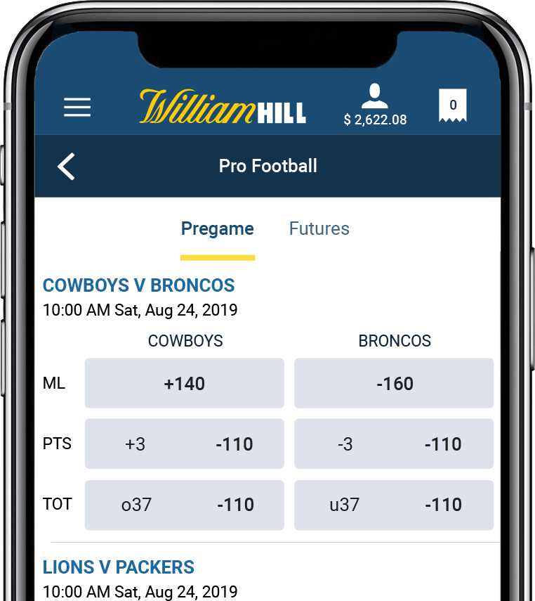 Nevada Sports Betting William Hill Nevada Sportsbook